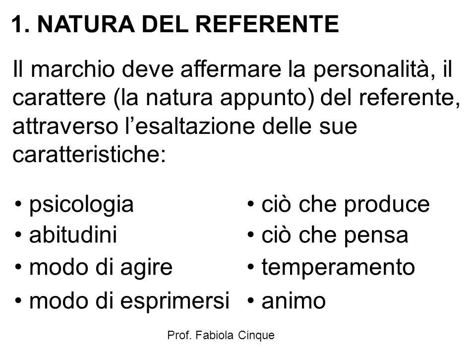 NATURA DEL REFERENTE