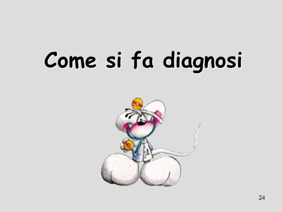 Come si fa diagnosi