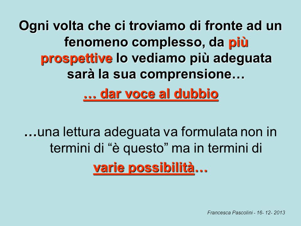 Francesca Pascolini - 16- 12- 2013