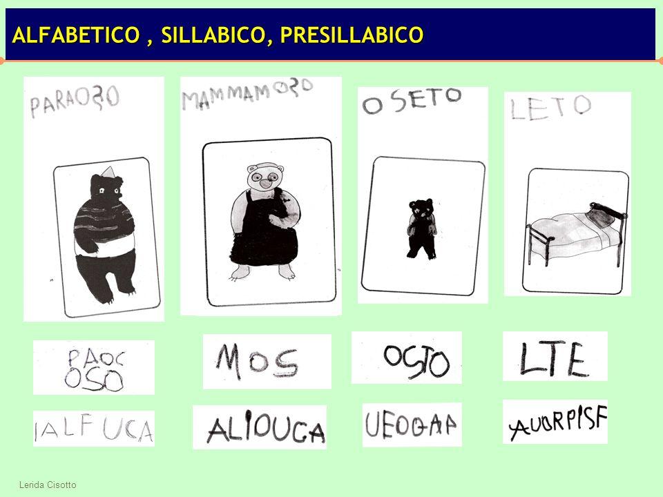 ALFABETICO , SILLABICO, PRESILLABICO