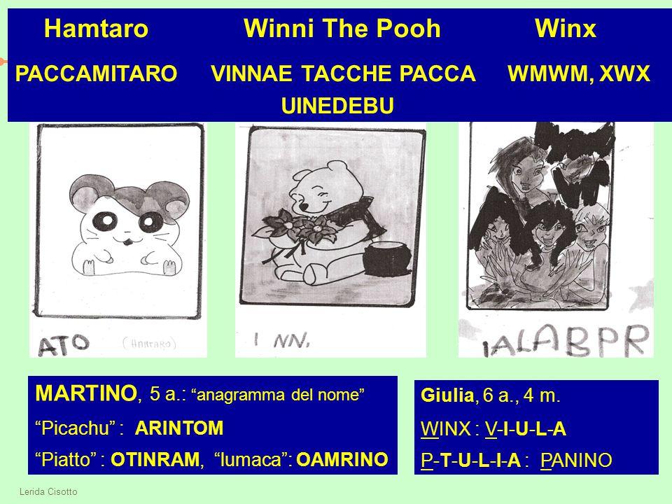 Hamtaro Winni The Pooh Winx