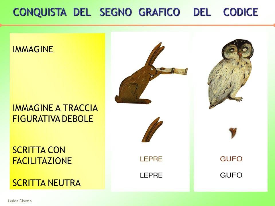 CONQUISTA DEL SEGNO GRAFICO DEL CODICE