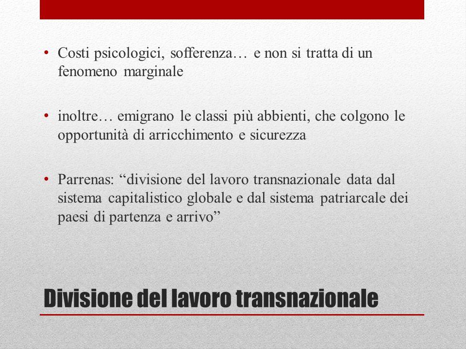 Divisione del lavoro transnazionale