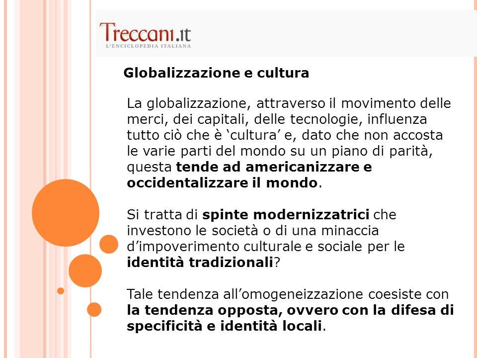 Globalizzazione e cultura
