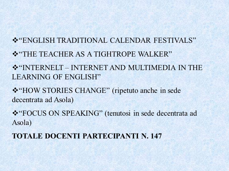 ENGLISH TRADITIONAL CALENDAR FESTIVALS