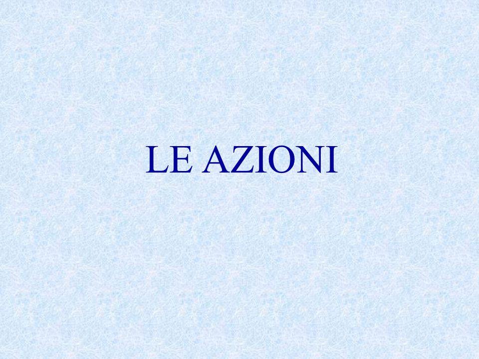 LE AZIONI