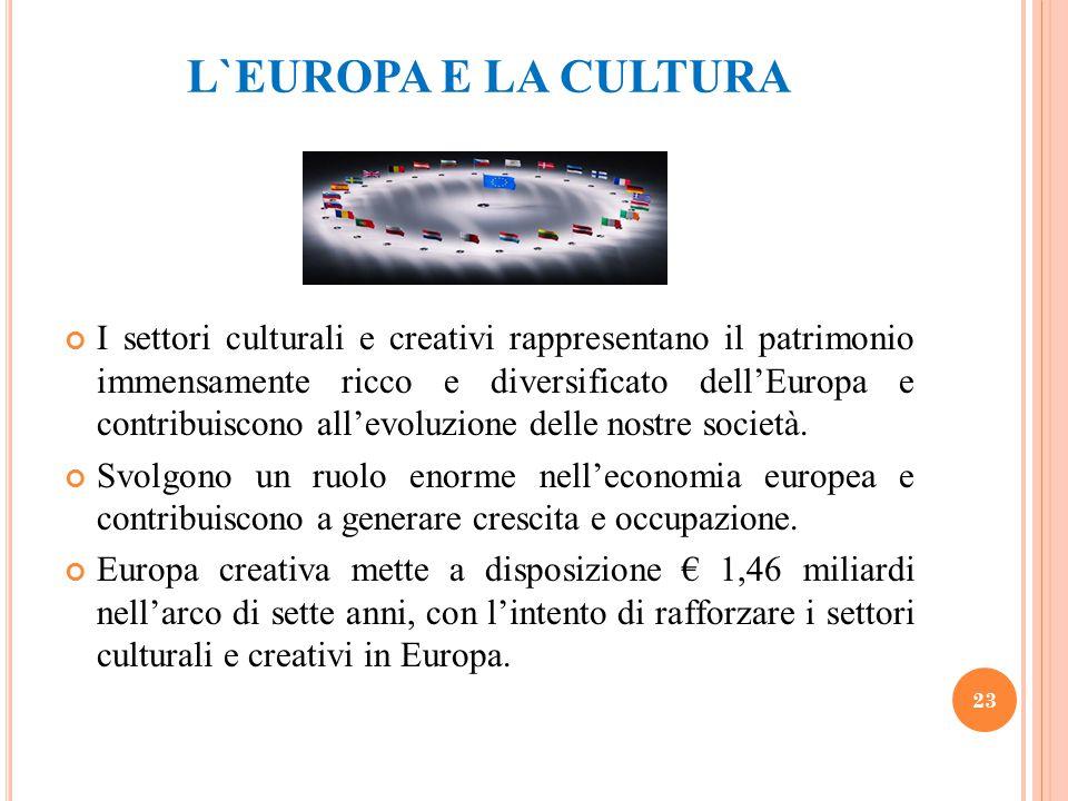 L`EUROPA E LA CULTURA