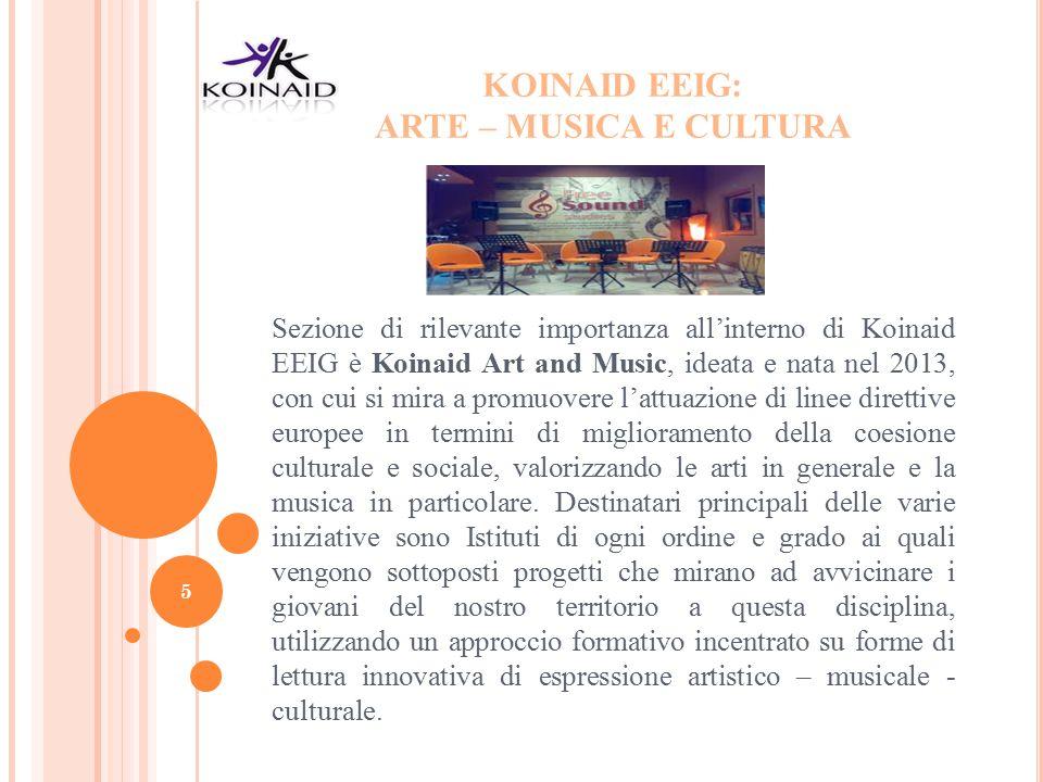 KOINAID EEIG: ARTE – MUSICA E CULTURA