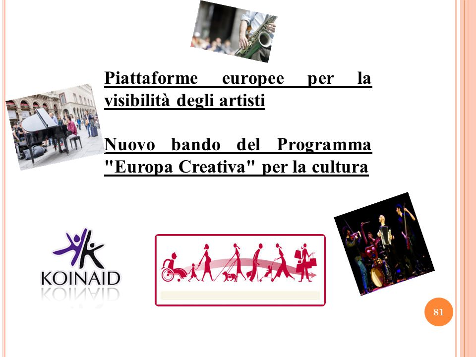Piattaforme europee per la visibilità degli artisti
