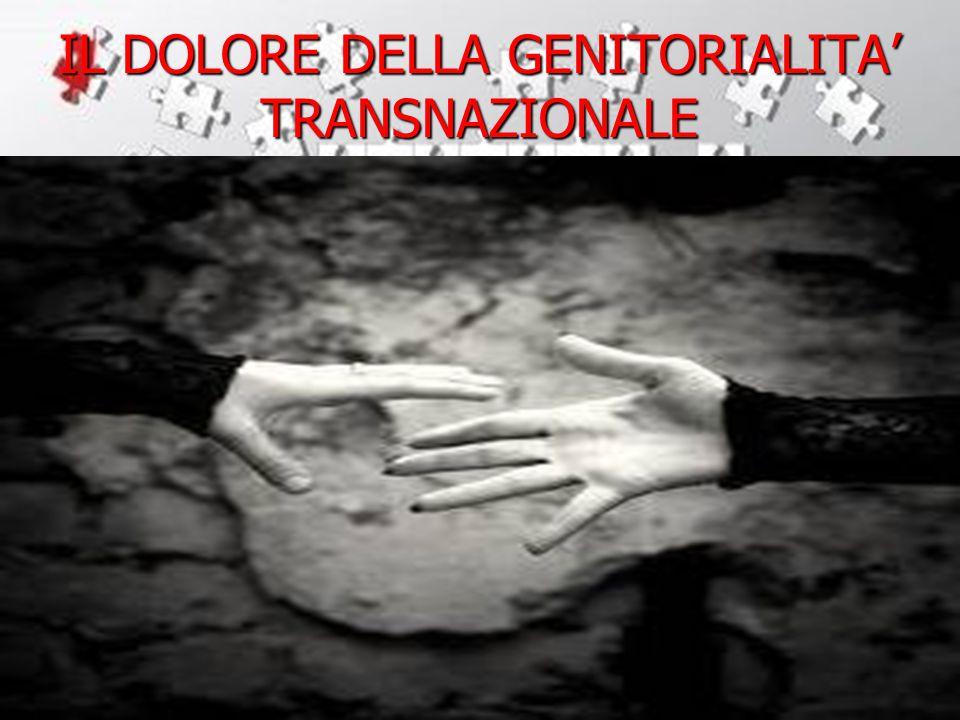 IL DOLORE DELLA GENITORIALITA' TRANSNAZIONALE
