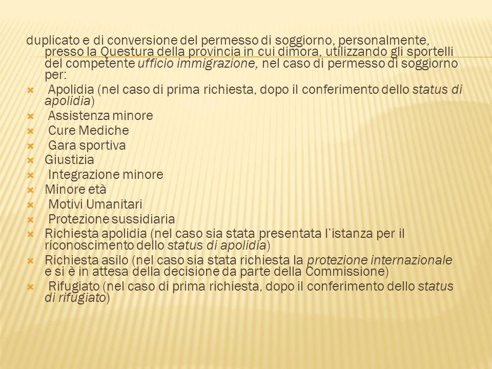 Diritto dell immigrazione ppt scaricare for Questura di cinisello balsamo permesso di soggiorno