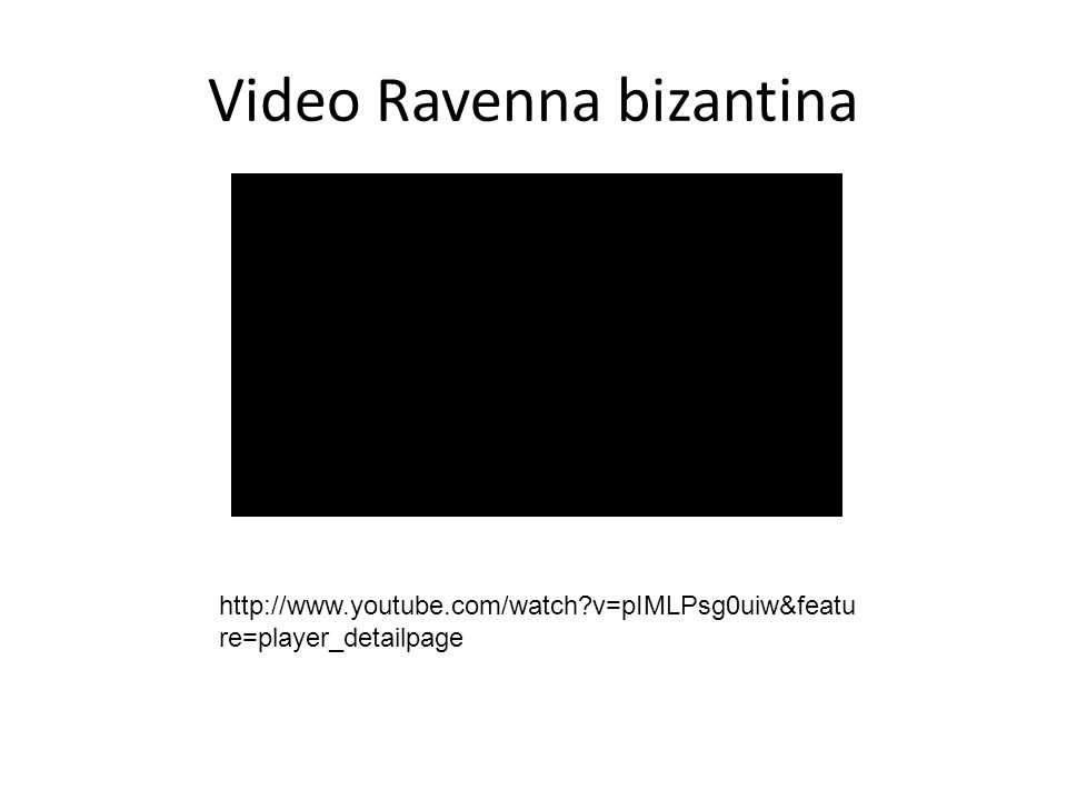 Video Ravenna bizantina