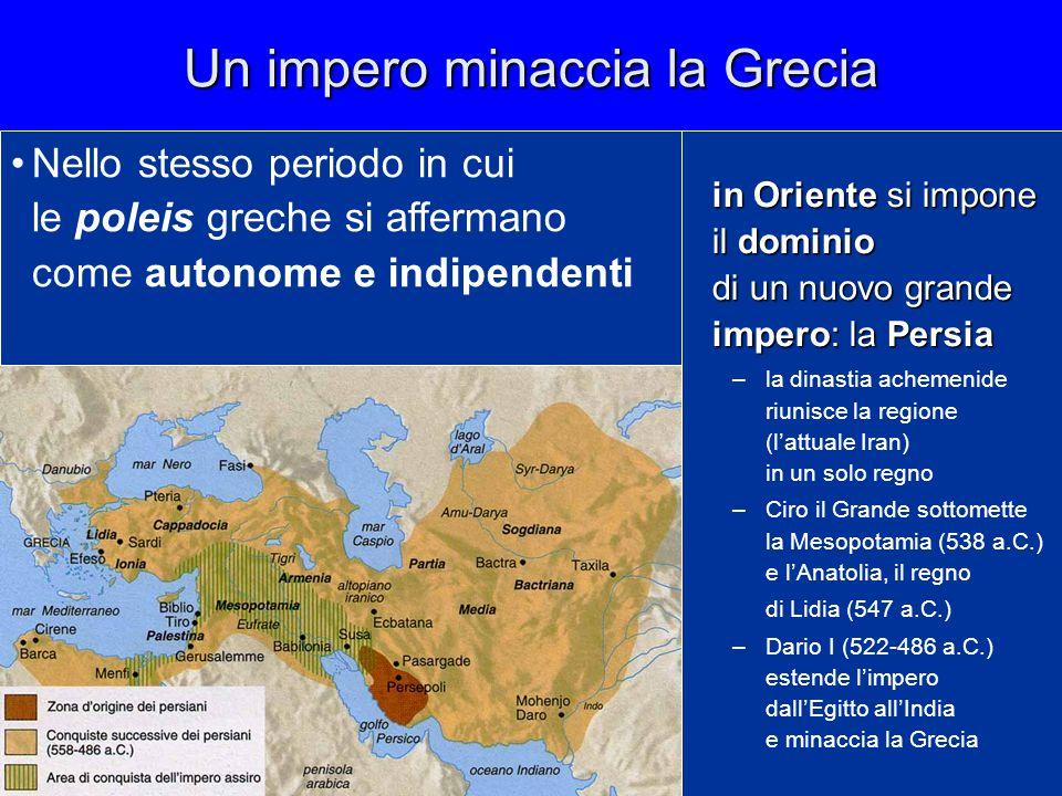 Un impero minaccia la Grecia