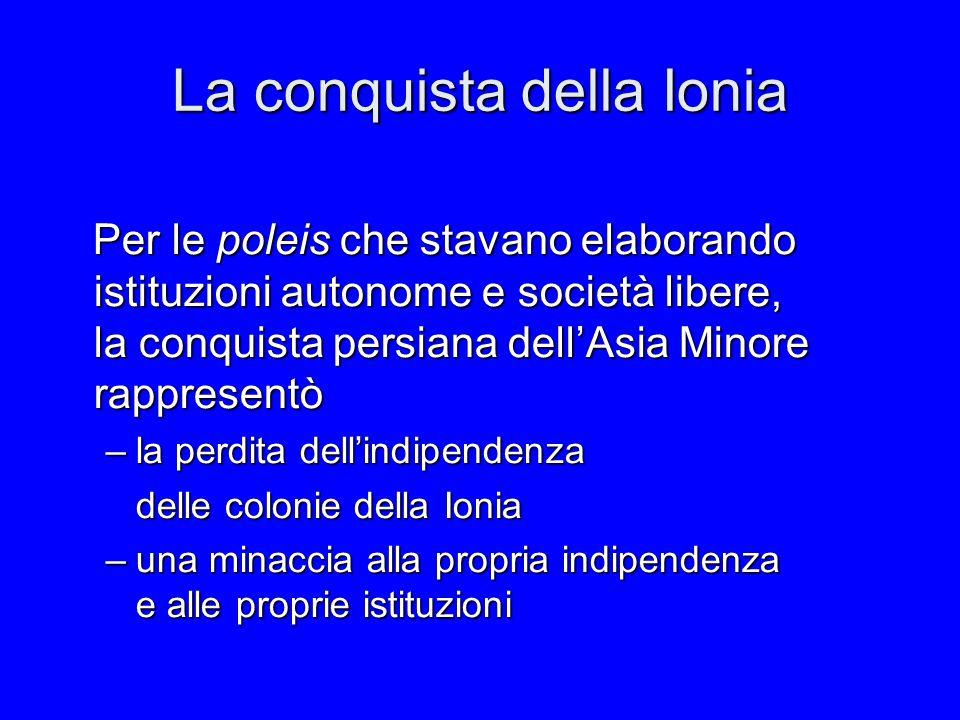 La conquista della Ionia