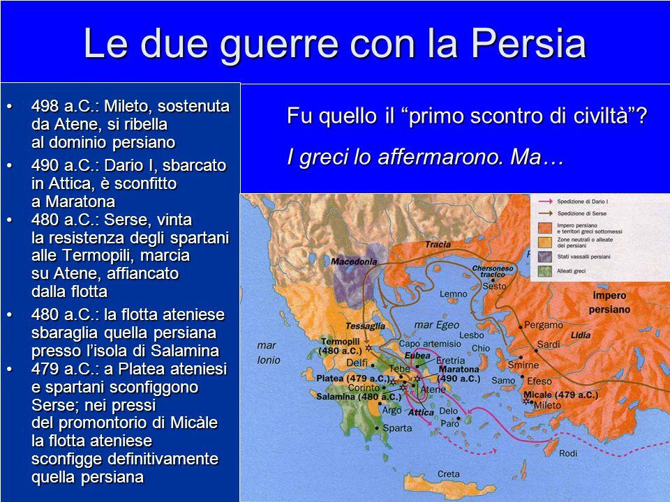 Le due guerre con la Persia