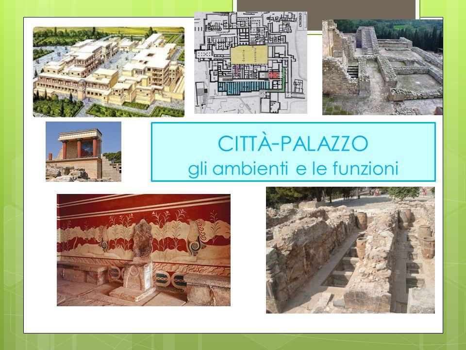 città-palazzo gli ambienti e le funzioni