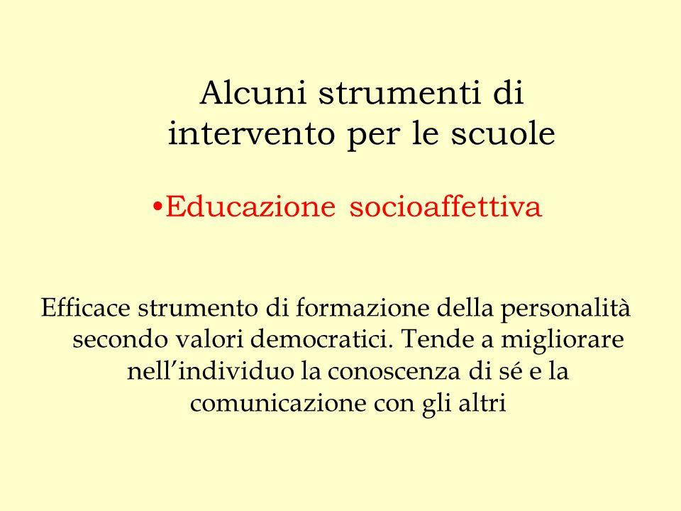 Educazione socioaffettiva