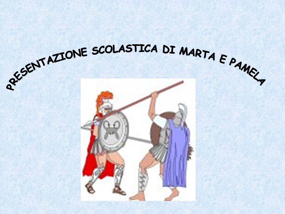 PRESENTAZIONE SCOLASTICA DI MARTA E PAMELA