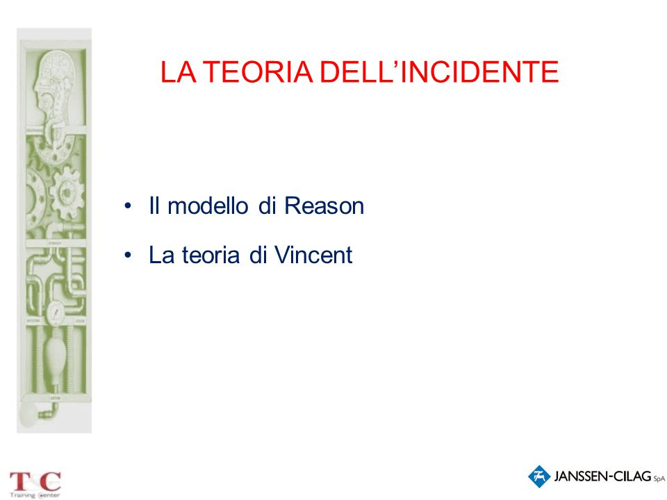LA TEORIA DELL'INCIDENTE