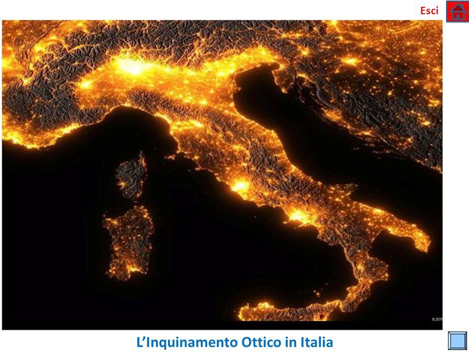 L'Inquinamento Ottico in Italia