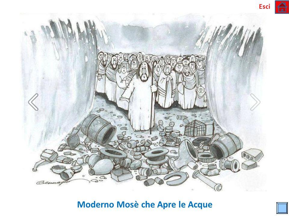 Moderno Mosè che Apre le Acque