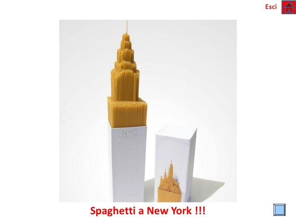 Esci Spaghetti a New York !!!