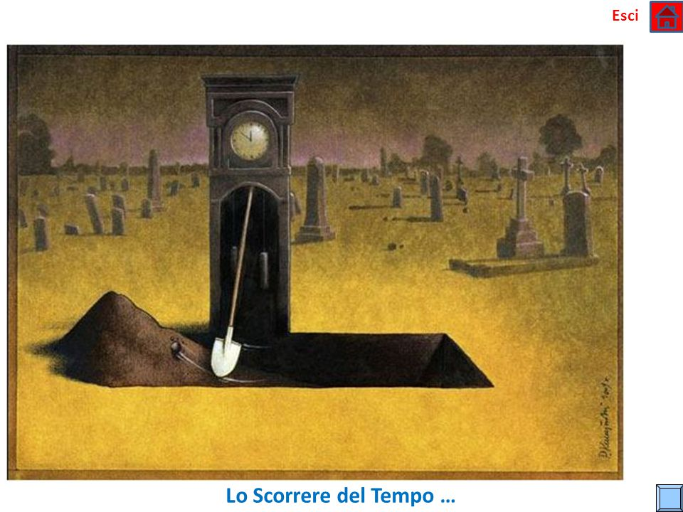 Esci Lo Scorrere del Tempo …
