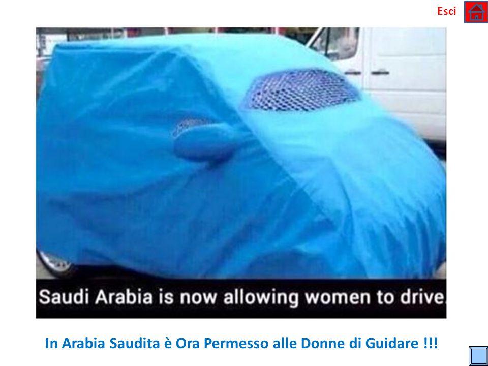 In Arabia Saudita è Ora Permesso alle Donne di Guidare !!!