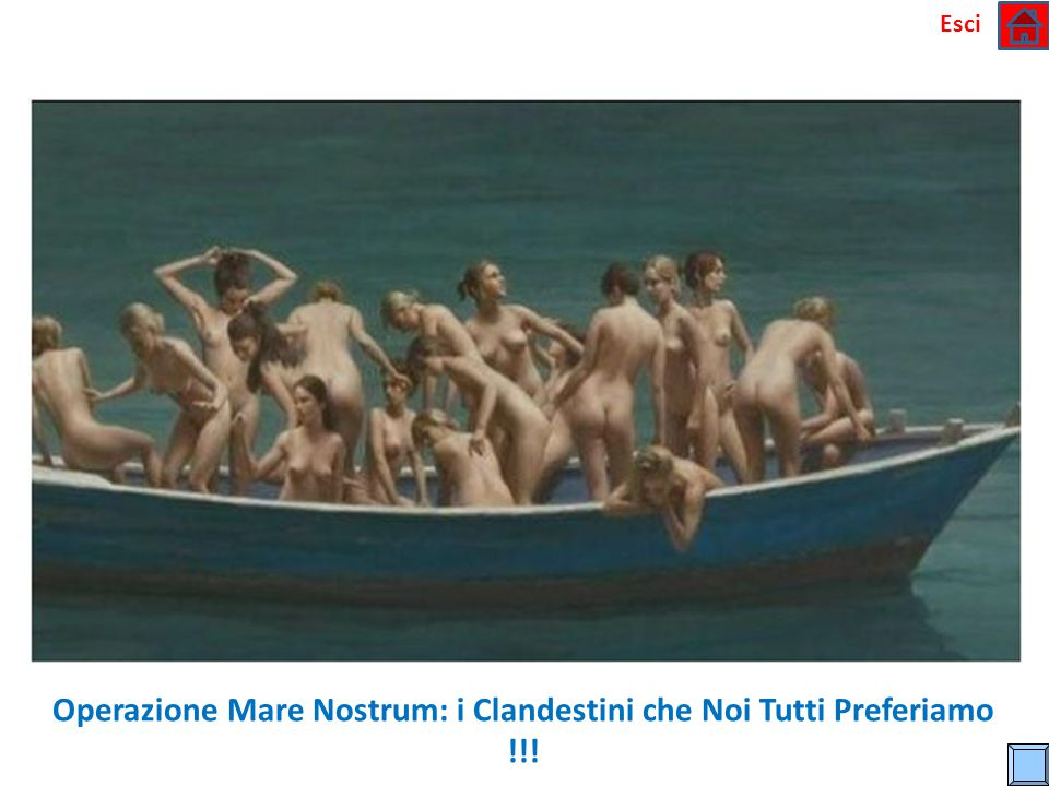 Operazione Mare Nostrum: i Clandestini che Noi Tutti Preferiamo !!!