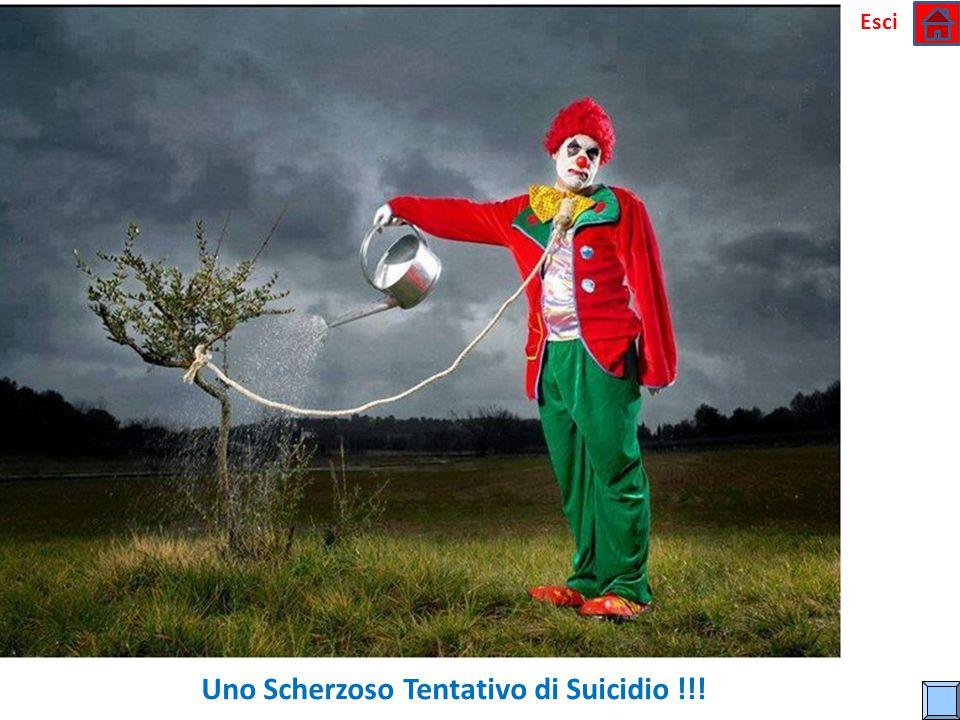 Uno Scherzoso Tentativo di Suicidio !!!
