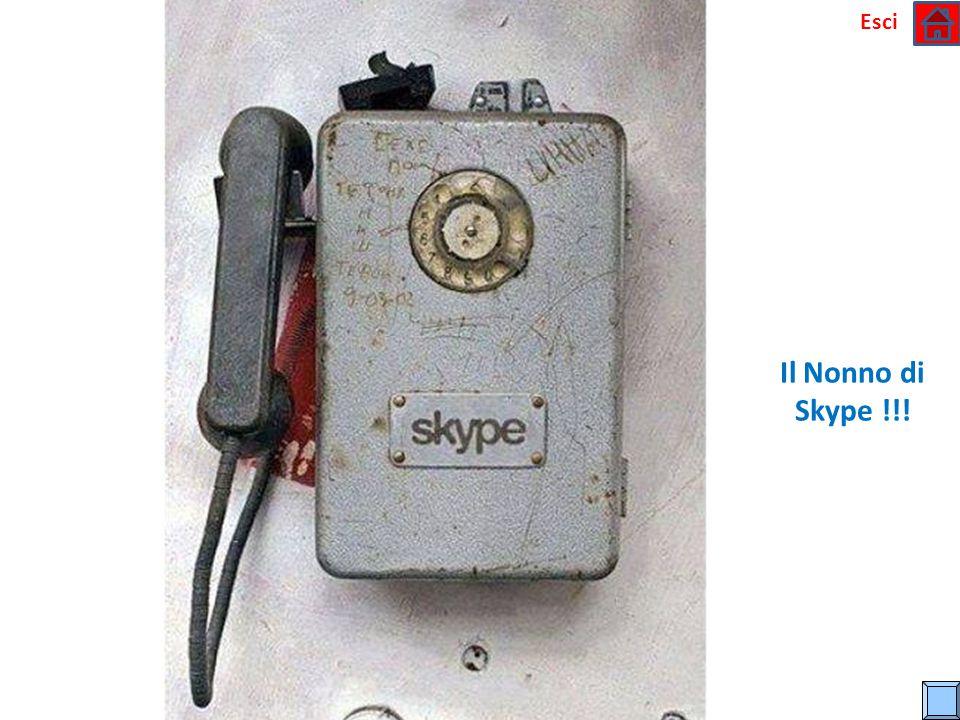 Esci Il Nonno di Skype !!!