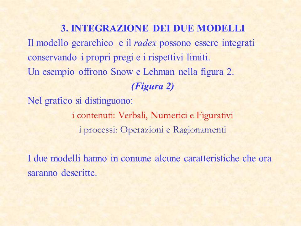 3. INTEGRAZIONE DEI DUE MODELLI
