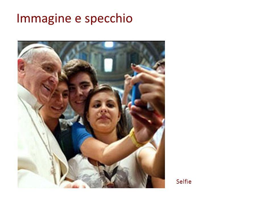 Immagine e specchio Selfie