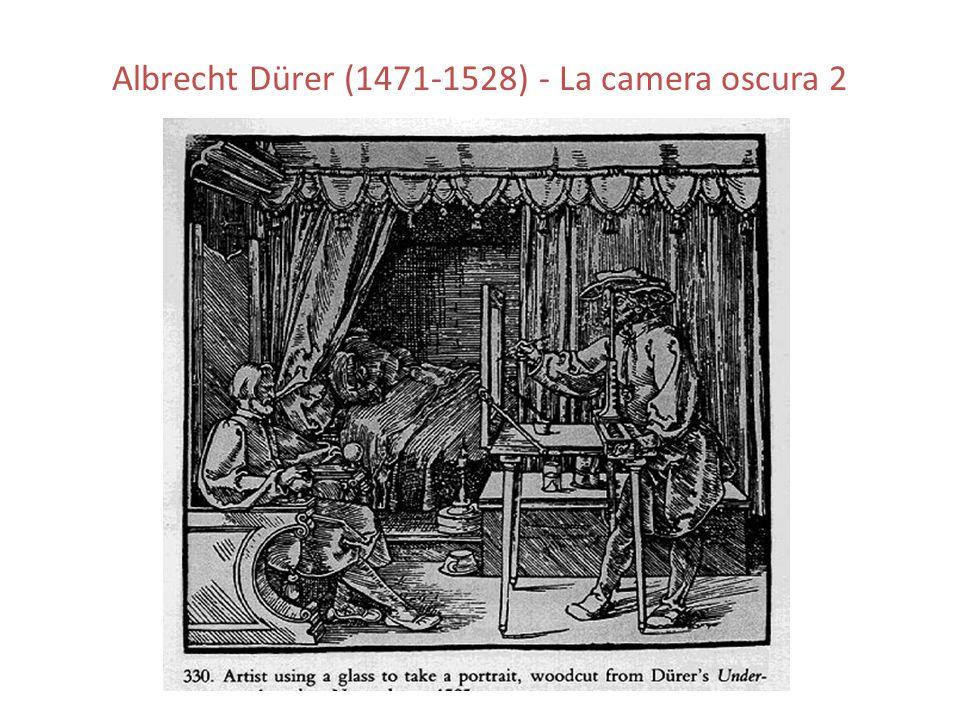 Albrecht Dürer (1471-1528) - La camera oscura 2