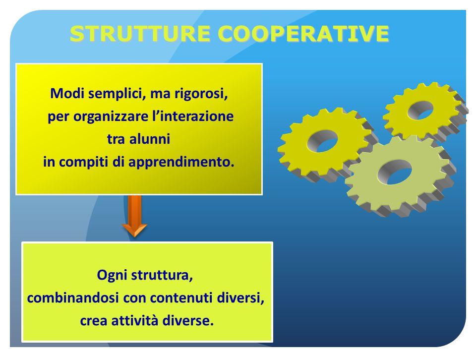 STRUTTURE COOPERATIVE