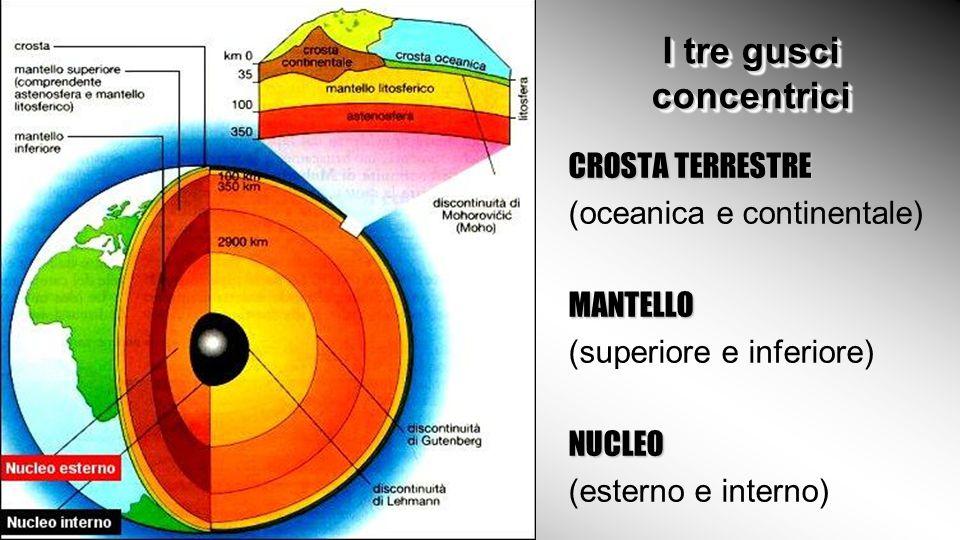 struttura della terra di k l istituto comprensivo n 7 c