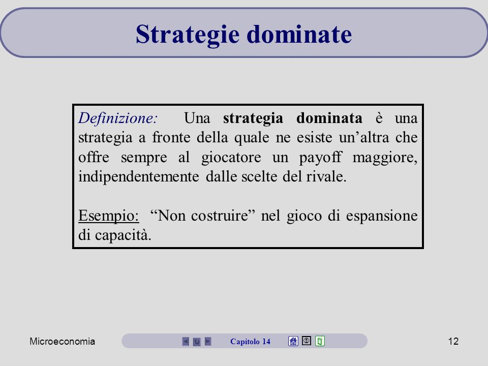 Strategie dominate