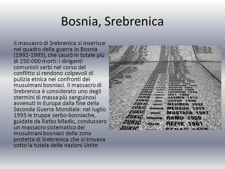 Bosnia, Srebrenica