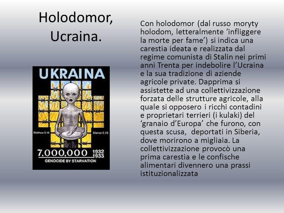 Holodomor, Ucraina.