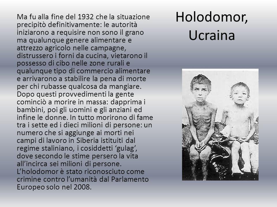 Holodomor, Ucraina