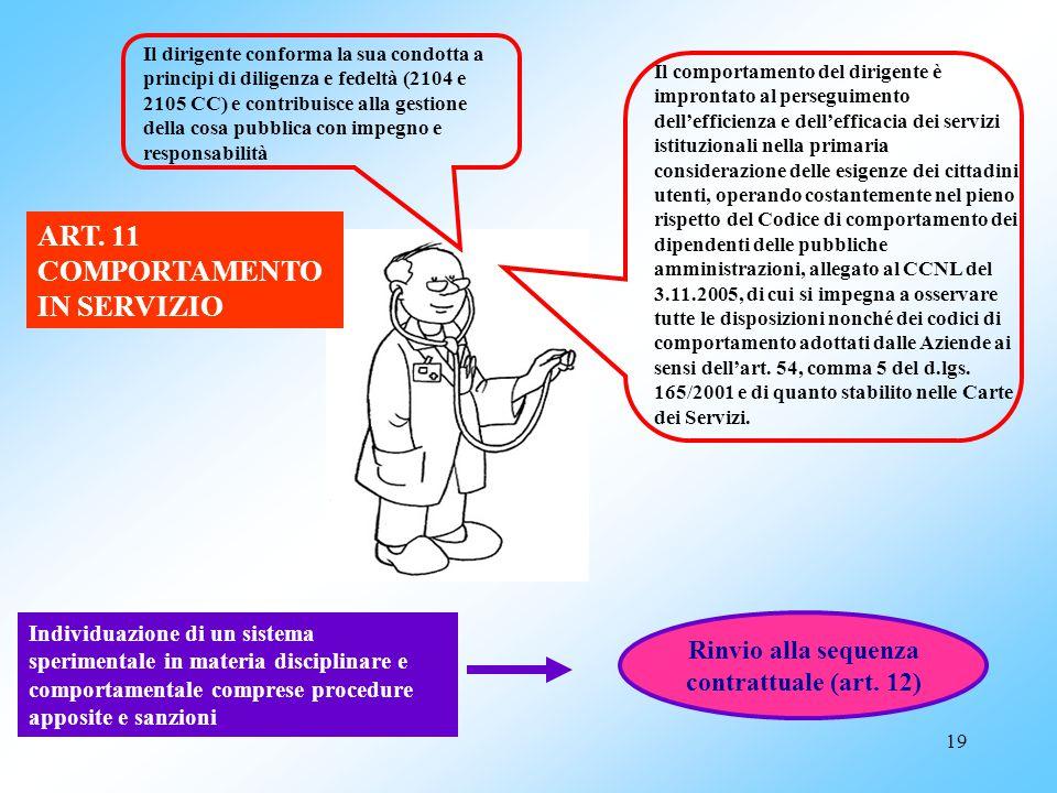 Rinvio alla sequenza contrattuale (art. 12)