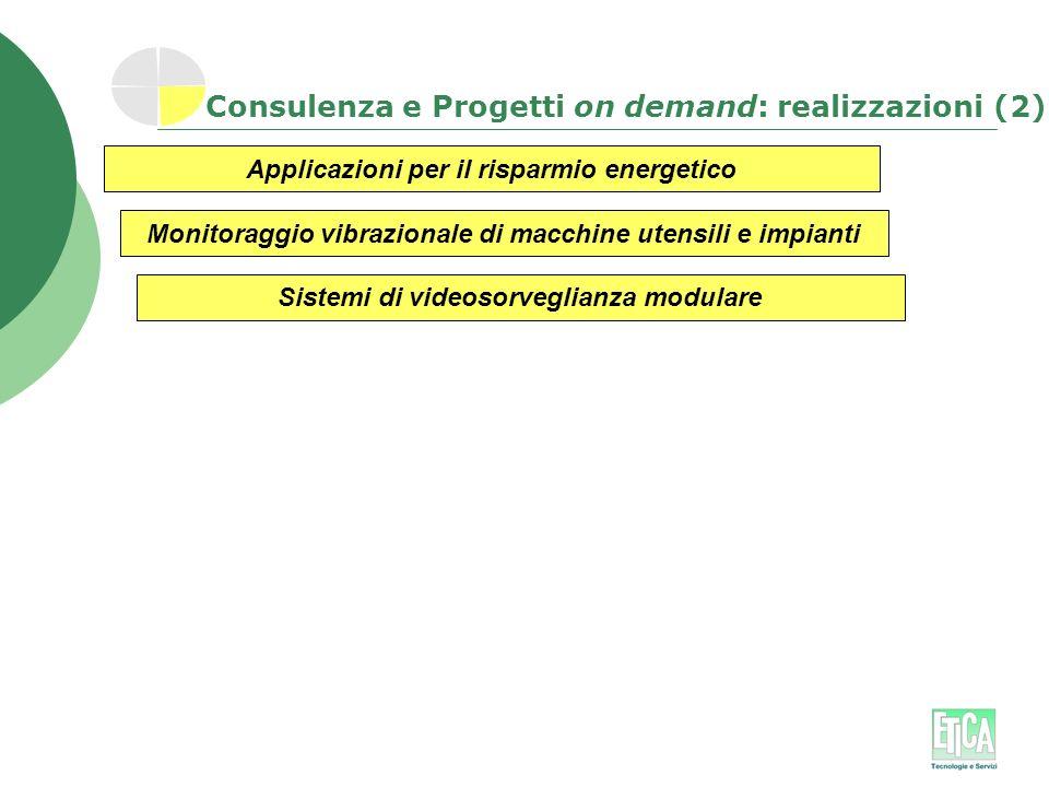 Consulenza e Progetti on demand: realizzazioni (2)