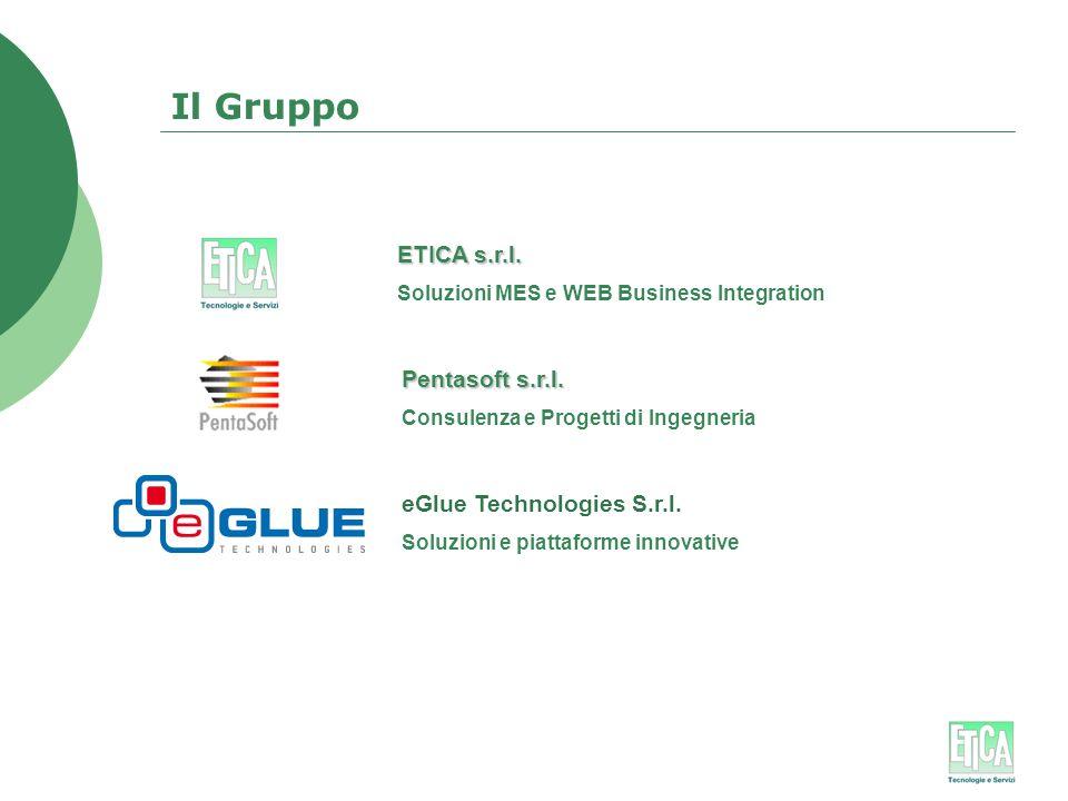 Il Gruppo ETICA s.r.l. Pentasoft s.r.l. eGlue Technologies S.r.l.