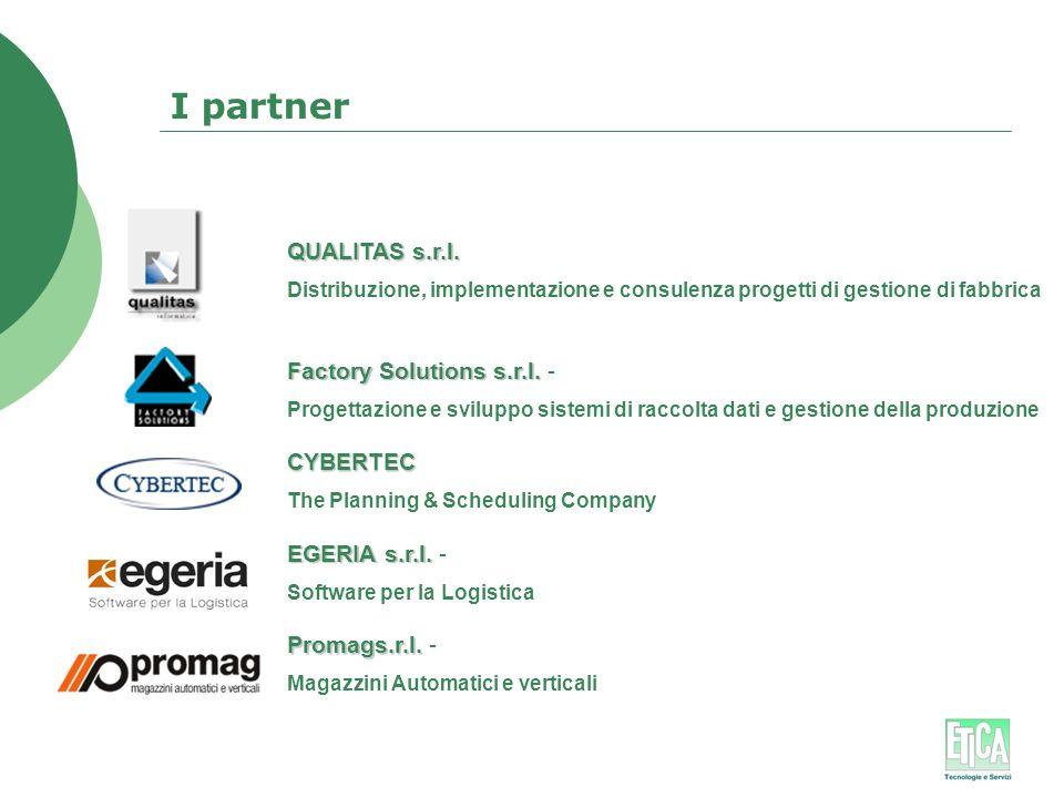 I partner QUALITAS s.r.l. Factory Solutions s.r.l. - CYBERTEC