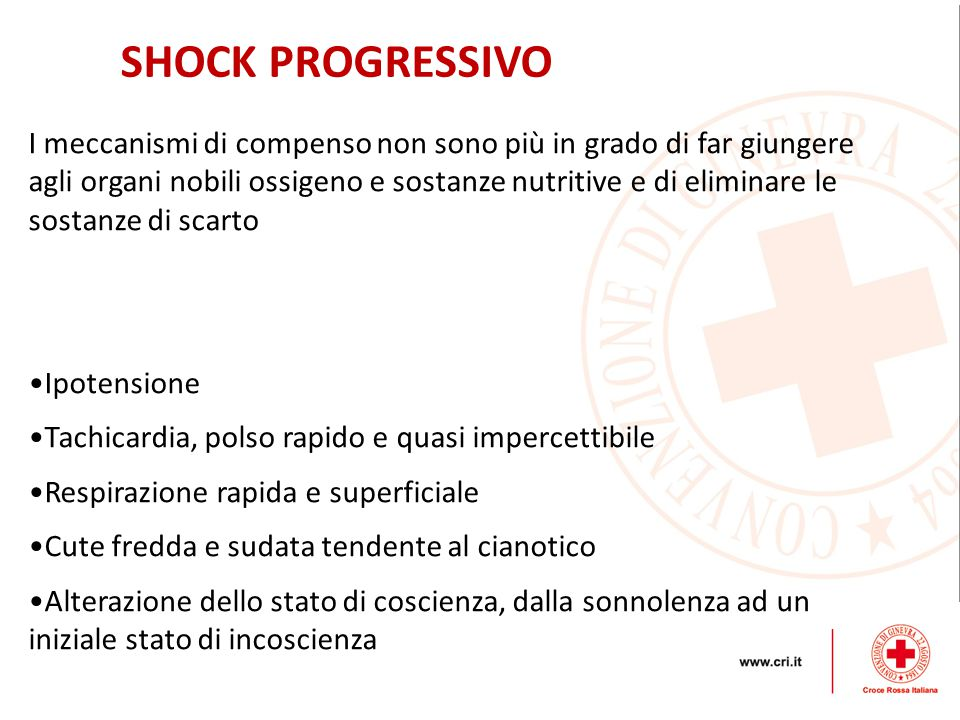 SHOCK PROGRESSIVO