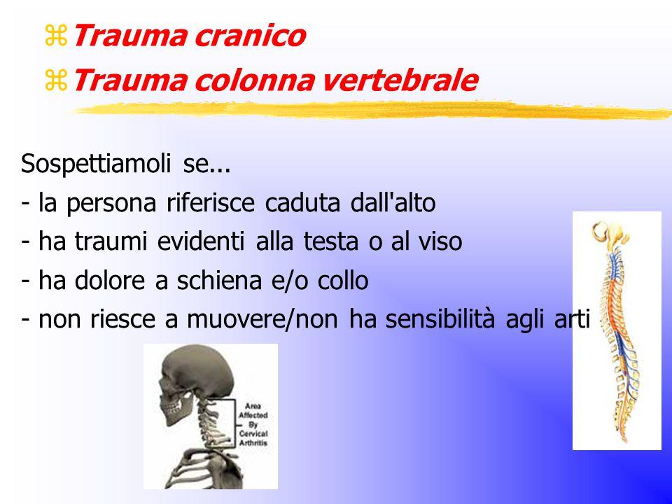 Trauma colonna vertebrale