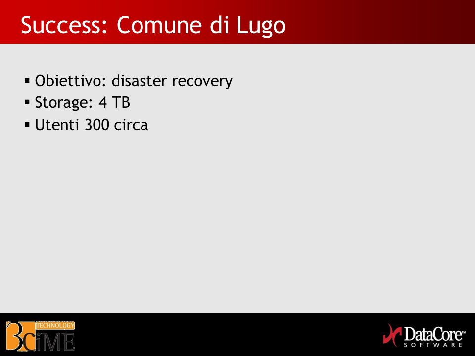 Success: Comune di Lugo