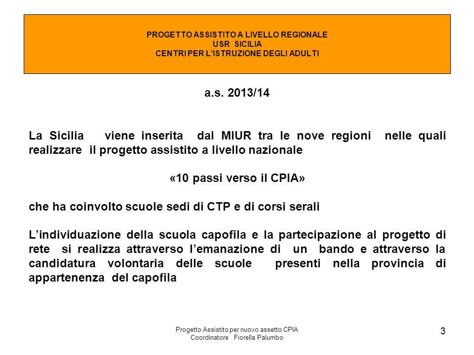 a.s. 2013/14 «10 passi verso il CPIA»