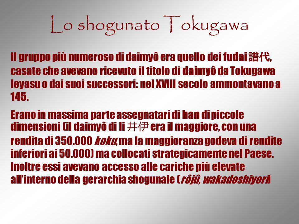 Lo shogunato Tokugawa