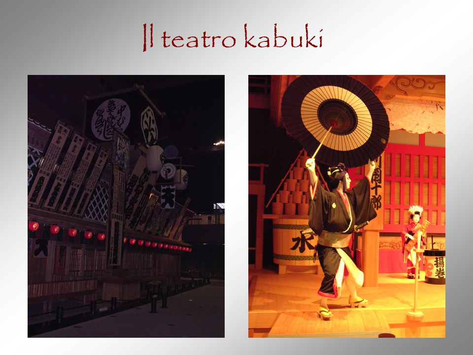 Il teatro kabuki